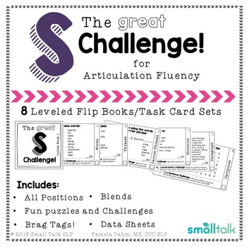The Great S Challenge for Articulation Fluency
