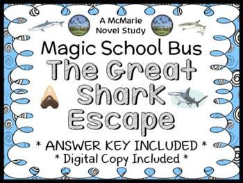 The Great Shark Escape (The Magic School Bus) Novel Study