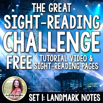 The Great Sight-Reading Challenge FREEBIE {Tutorial Video