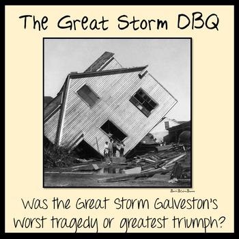 The Great Storm DBQ