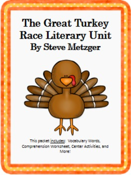 The Great Turkey Race Literary Unit