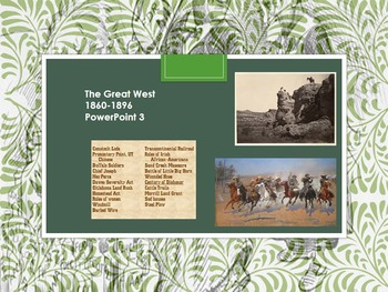 The Great West 1860-1896 3