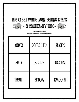 The Great White Man Eating Shark:  A Cautionary Tale