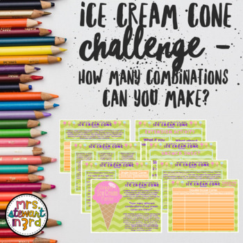 The Great and Mysterious Ice Cream Challenge - How Many Co
