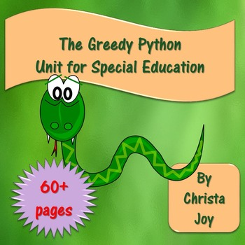 The Greedy Python Unit for Special Education