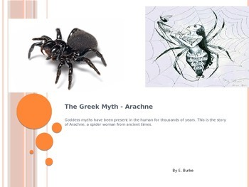 The Greek Myth, Arachne