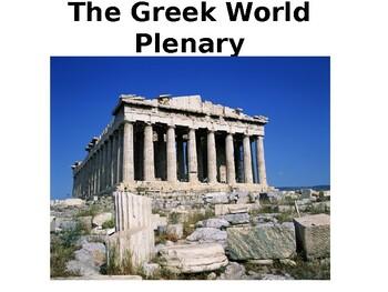 Ancient Greek World Review/Quiz