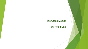 The Green Mamba vocabulary