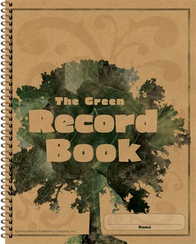 The Green Record Book Grades K-8 SALE 20% OFF 104301