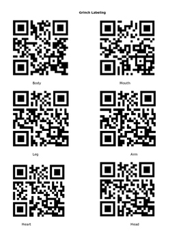 The Grinch QR Code Labeling