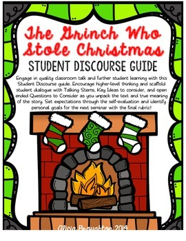 The Grinch Who Stole Christmas Student Discourse Guide