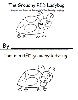 The Grouchy Red Ladybug, Retell Story, based on Eric Carle's Book
