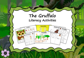 The Gruffalo - Literacy Activities