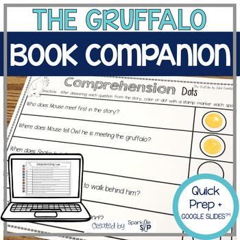 The Gruffalo Quick Prep Speech and Language Book Companion
