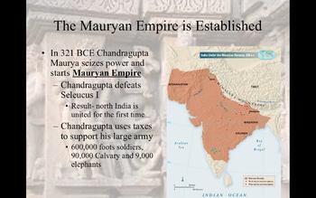 The Gupta and Maurya Empires