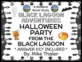The Halloween Party from the Black Lagoon (Thaler) Novel S
