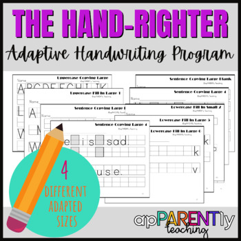 The Hand-Righter Handwriting Program - making writing easy