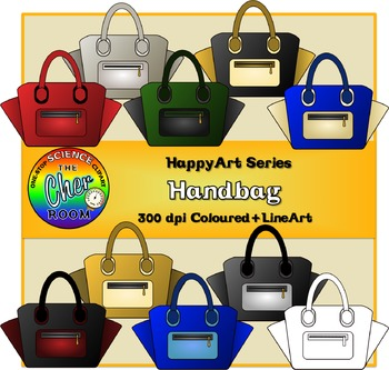 Handbag Clipart (The HappyArt Series)