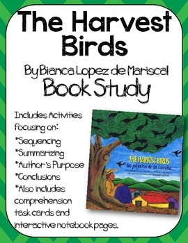 The Harvest Birds Book Study:Organizers and Interactive No