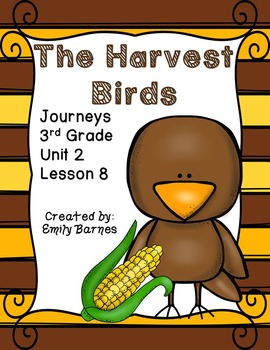 The Harvest Birds Journeys 3rd Grade Unit 2 Lesson 8