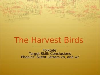 The Harvest Birds PPT Journeys Lesson 8