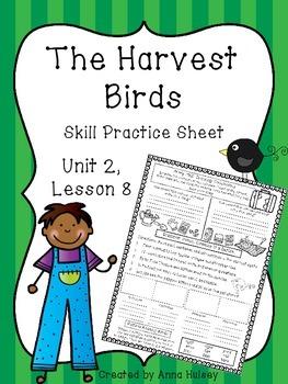 The Harvest Birds (Skill Practice Sheet)