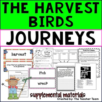 The Harvest Birds Journeys Third Grade Supplemental Materials