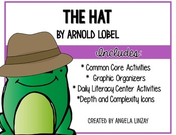 The Hat (Frog and Toad): Aligning 1st Grade Houghton Miffl