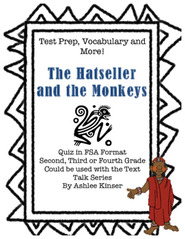 The Hatseller and the Monkeys - Vocabulary - Comprehension