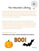 The Haunted Library- Halloween Story Starter