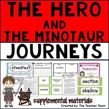 The Hero and the Minotaur Journeys 6th Grade Supplemental