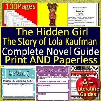 The Hidden Girl Unit Novel Study