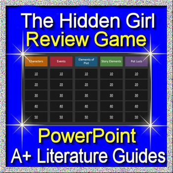 The Hidden Girl Review Game