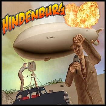 The Hindenburg - Comic Book