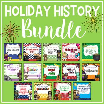 The History of HolidaysDiscounted BUNDLE