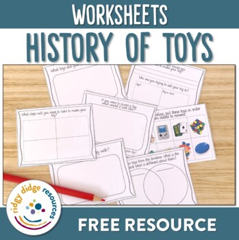 The History of Toys worksheets