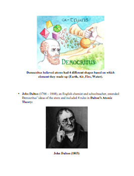 The History of the Atom - Models and Scientists (Teacher a