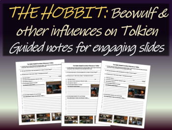The Hobbit: Beowulf & other influences on Tolkien:Free Not