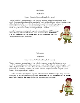 The Hobbit Diary Project