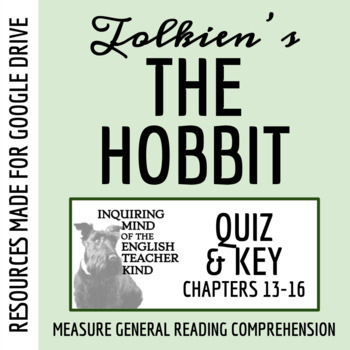 The Hobbit Quiz: Chapters 13, 14, 15, 16