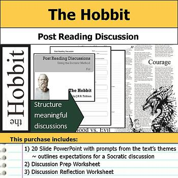The Hobbit - Socratic Method - Post Reading Discussions