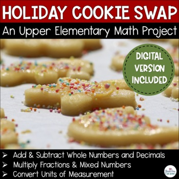 The Holiday Cookie Swap: A Stress-Free Math Project for Up