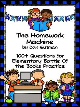 The Homework Machine - North Carolina EBOB 2016-2017