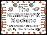 The Homework Machine (Dan Gutman) Novel Study / Reading Co
