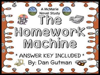 The Homework Machine (Dan Gutman) Novel Study / Reading Co