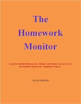 The Homework Monitor