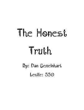 The Honest Truth book unit