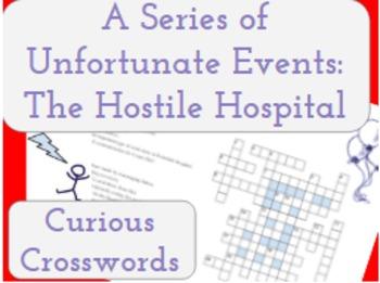 The Hostile Hospital- Worksheet (Book 8 Series of Unfortun