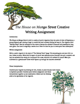 The House on Mango Street Creative Writing Assignment