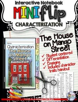 THE HOUSE ON MANGO STREET: INTERACTIVE NOTEBOOK CHARACTERI